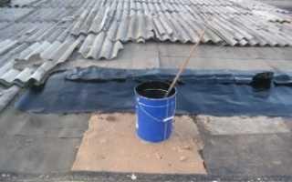 Чем покрыть крышу металлического гаража от протекания