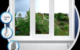 Пластиковые окна эконом класса для дачи