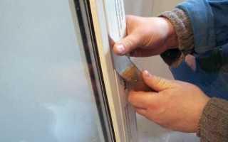 Как разобрать окно ПВХ
