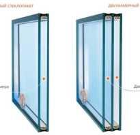 Чем отличается однокамерное окно от двухкамерного
