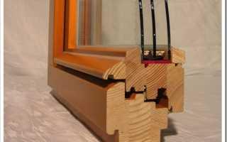 Как вставить стеклопакет в деревянную раму