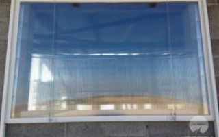 Стеклопакет из монолитного поликарбоната
