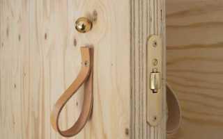 Как сделать дверь из фанеры своими руками?
