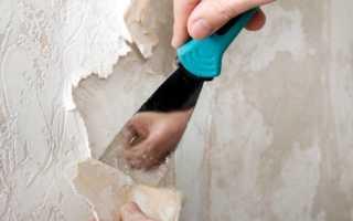 Как быстро снять флизелиновые обои со стен