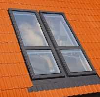 Мансардные окна неоткрывающиеся
