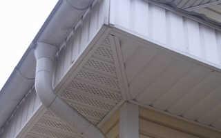 Подшивка свесов крыши софитом стоимость работ