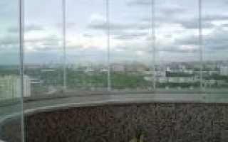 Монтаж остекления балкона своими руками