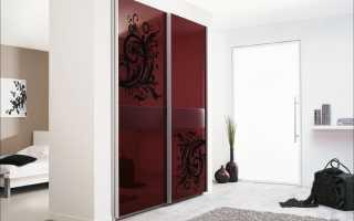 Шкаф вместо стены между прихожей и комнатой