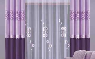 Как рассчитать ткань на шторы со складками?