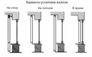 Как правильно установить вертикальные жалюзи