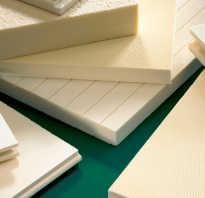 Классификация пенопласта по плотности