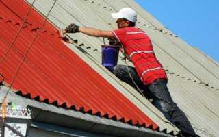 Как правильно положить шифер на крышу схема