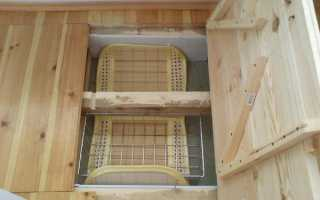 Как сделать погреб под балконом первого этажа