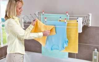 Можно ли сушить белье в квартире?