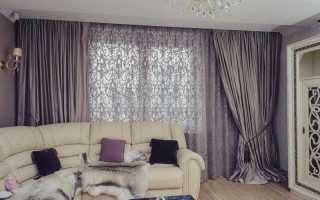 Как красиво пошить шторы в зал?