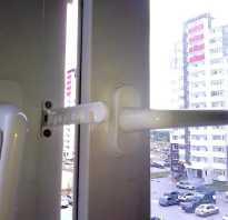 Как поставить ограничитель на пластиковое окно