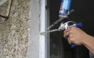 Какая монтажная пена лучше для дверей?