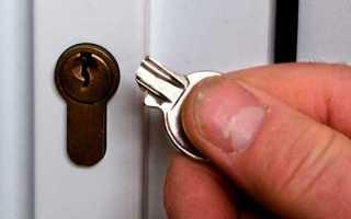 Как открыть китайскую дверь без повреждений самому?