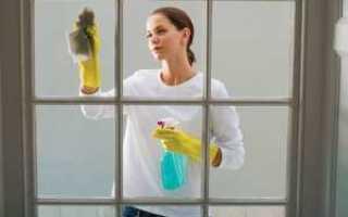 Как чистить матовое стекло на дверях?