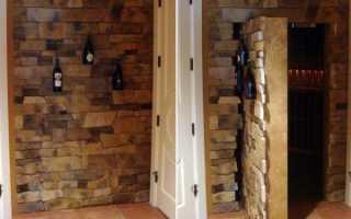 Как сделать скрытую дверь в стене?