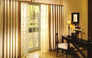 Как рассчитать ширину шторы со складками?
